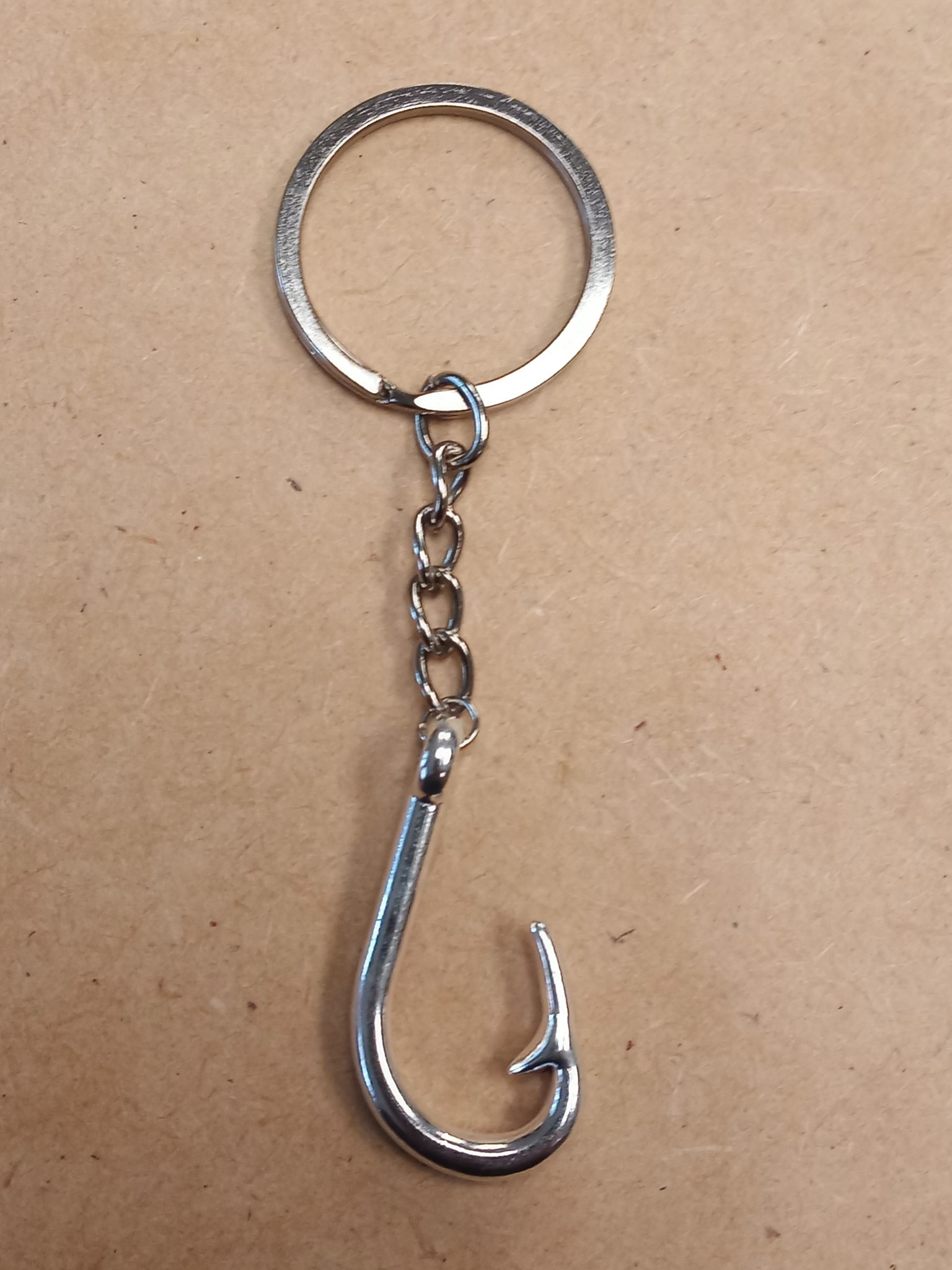 Fish Hook Key Chain