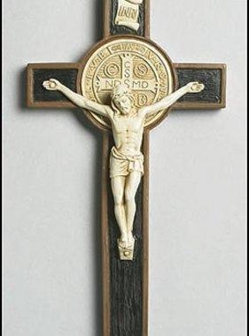 St Benedict Wall Crucifix