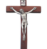 Devotional Wood Crucifix 4""