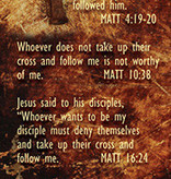 Follow Me Bookmark Matt 4:19
