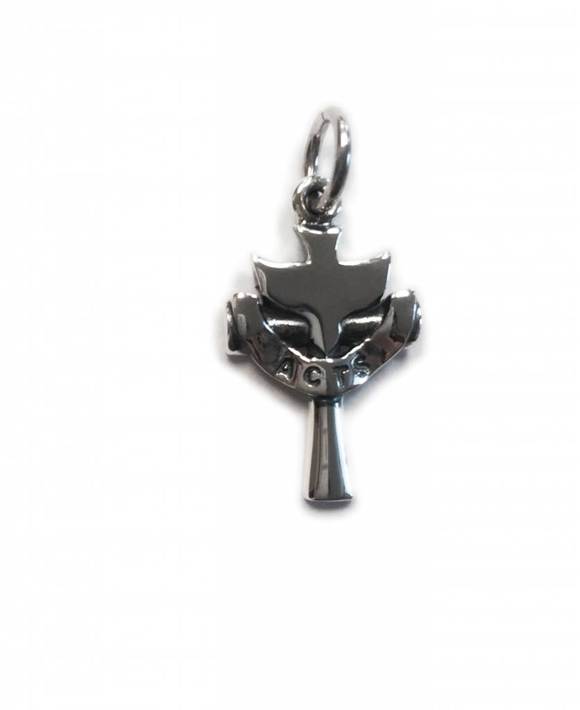 ACTS Holy Spirit Cross SS Charm