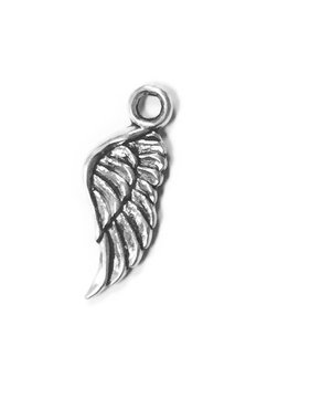 Angel Wing Metal Charm