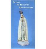 Recen el Rosario Diariamente Folleto