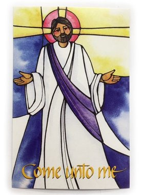 Act of Contrition/Come Unto Me Prayer Card