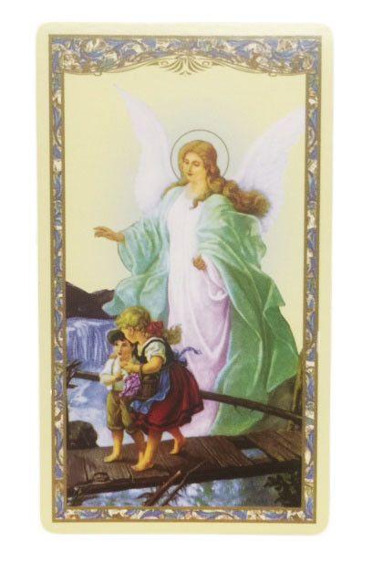 Al Angel de la Guarda Tarjeta de Oracion