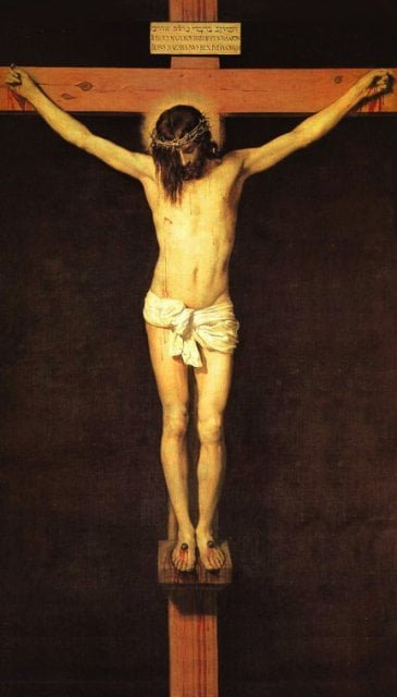 Prayer Before a Crucifix Prayer Card