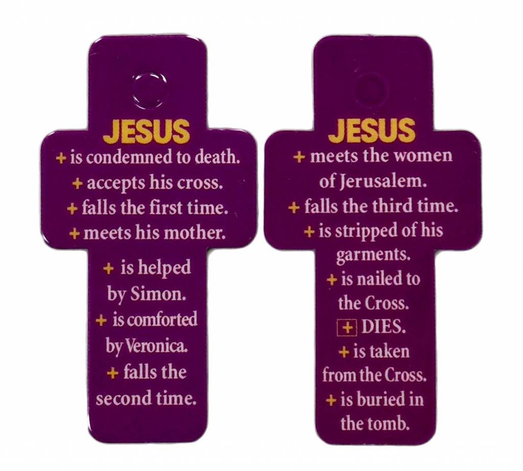 Stations of the Cross Key Tag