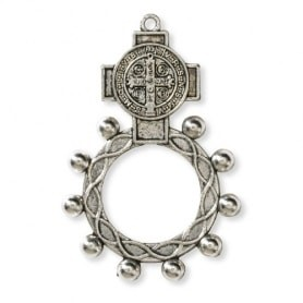 St. Benedict Rosary Ring