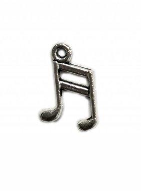 Music Note Metal Charm