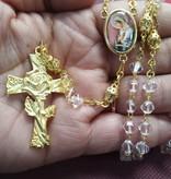 Mystical Rose Rosary/Rosa Mistica Rosario