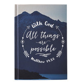 With God All Things Are Possible Journal