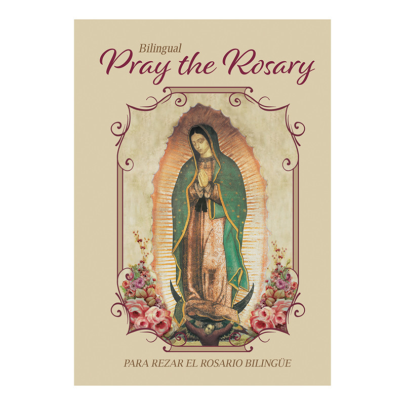 Biligual Pray the Rosary Booklet