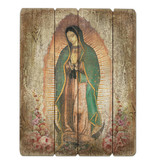 "15"" Our Lady of Guadalupe Plaque"