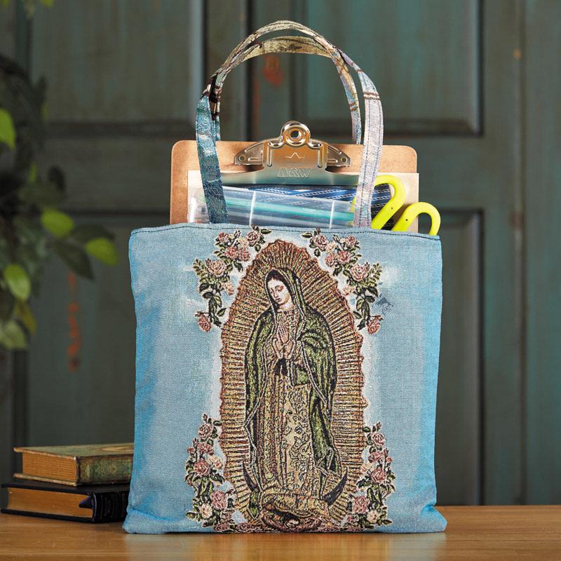 Guadalupe Tapestry Tote Bag