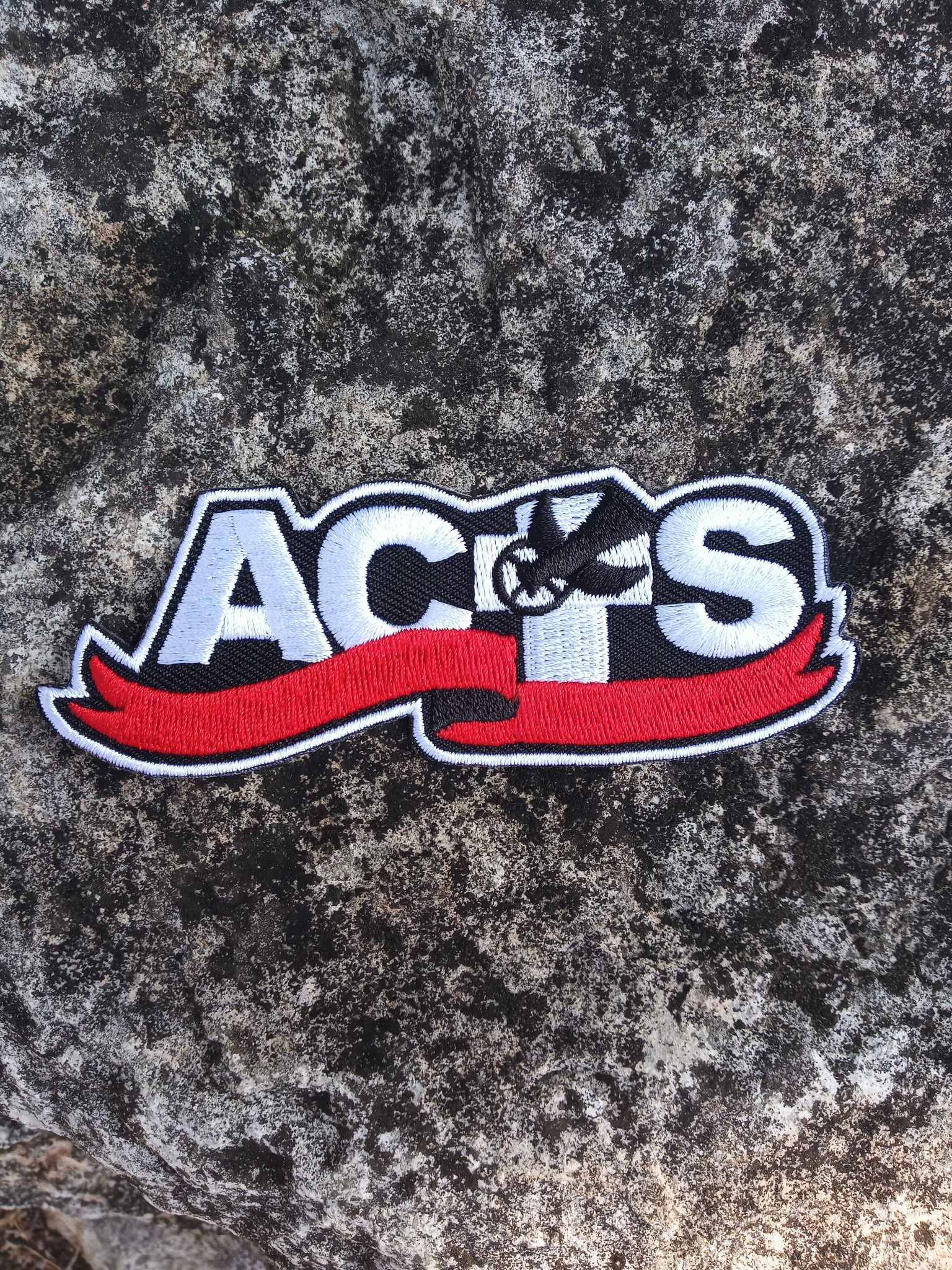 ACTS Ribbon Logo Iron-On Embroidered Patch