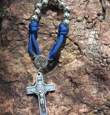 One Decade St Benedict Corded Rosary