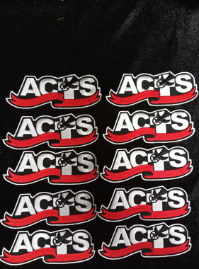 ACTS Ribbon Logo Patch 10 Pack Retreat Special