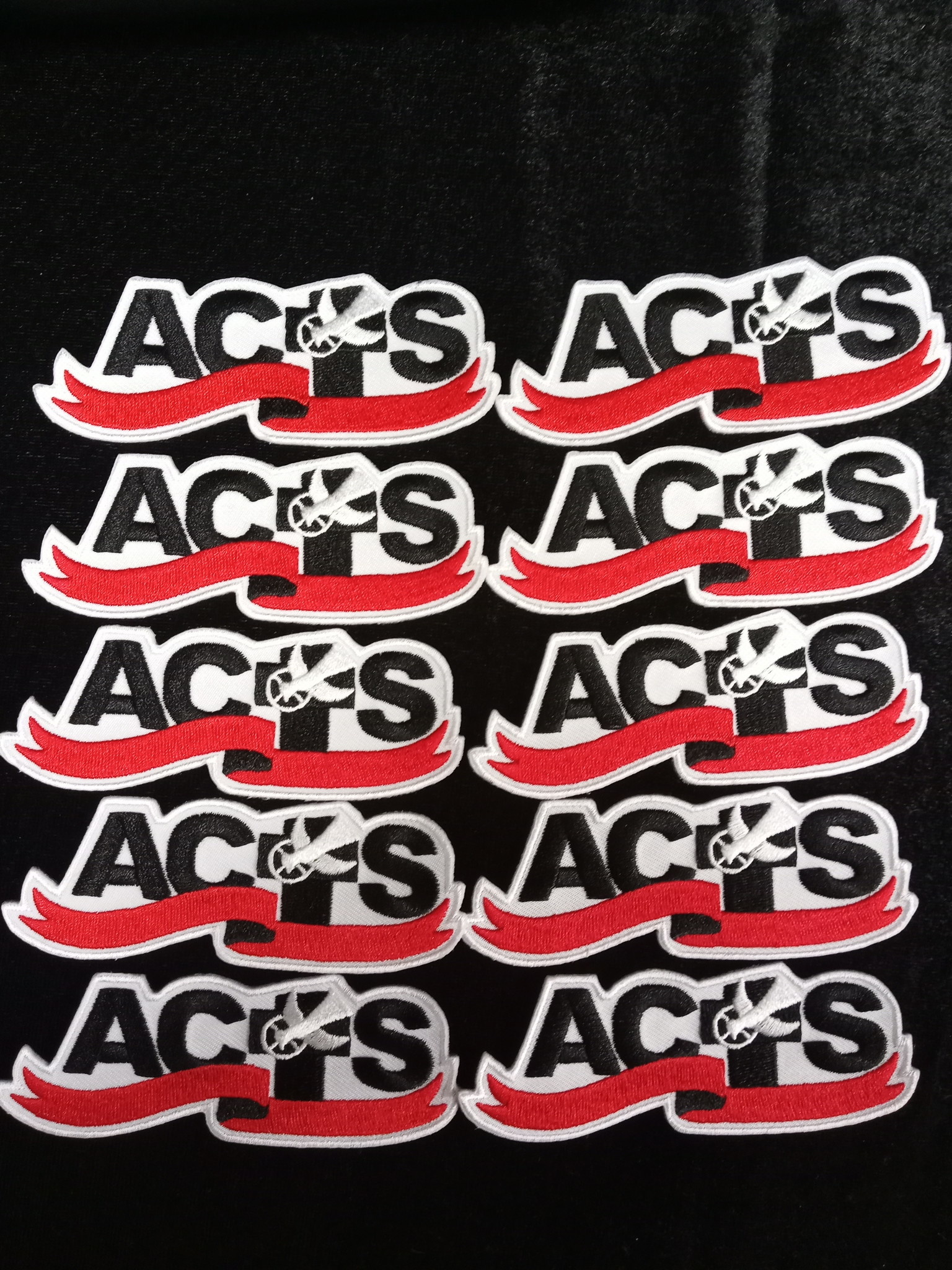 ACTS Ribbon Logo Patch 10 Pack Fall Special