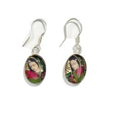 Virgen de Guadalupe SS Earrings