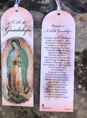 Spanish Guadalupe Laminated Bookmark