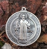 "2"" Large St Benedict Medal"