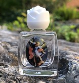 St Michael Glass Holy Water Bottle