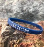 I Am Second Silicone Wristband