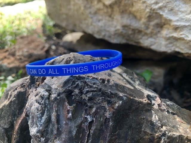I Can Do All Things Silicone Wristband