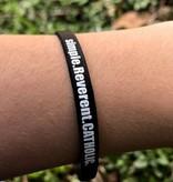 simple.Reverent.CATHOLIC Silicone Wristband