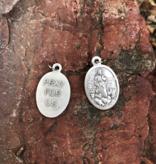 The Good Shepherd Oxidized Medal