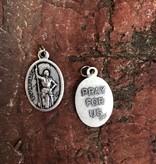 Joan of Arc Oxidized Medal