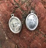Padre Pio Oxidized Medal
