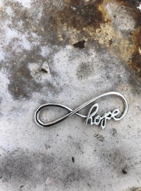 Hope Infinity Charm