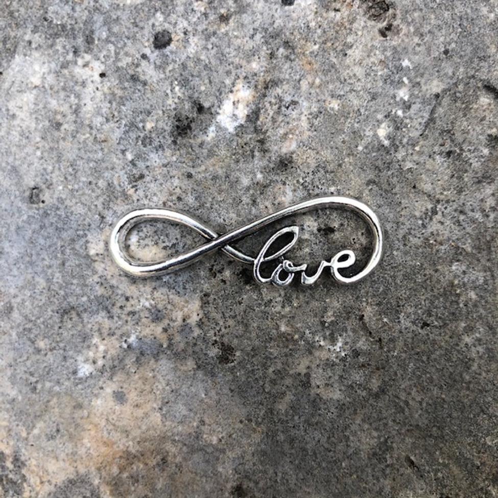 Love Infinity Charm