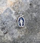 "1/2"" Miraculous Mother Blue Enamel Charm"