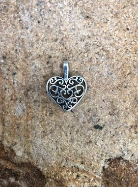 Laced Heart Charm
