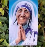 St Teresa of Calcutta Holy Card