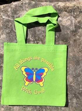 All Things are Possible With God! Mini Tote Bag