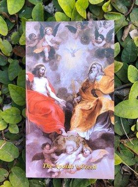 The Apostles' Creed Holy Card