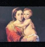 Misterios Del Santo Rosario Prayer Card