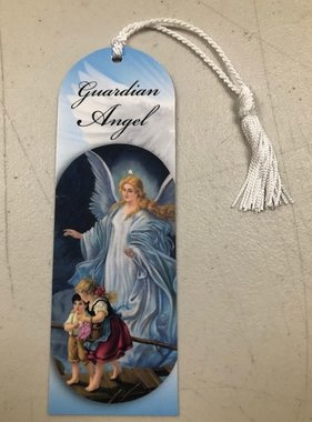 Guardian Angel Laminated Bookmark