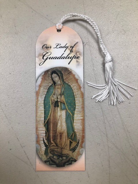 Our Lady of Guadalupe Laminated Bookmark