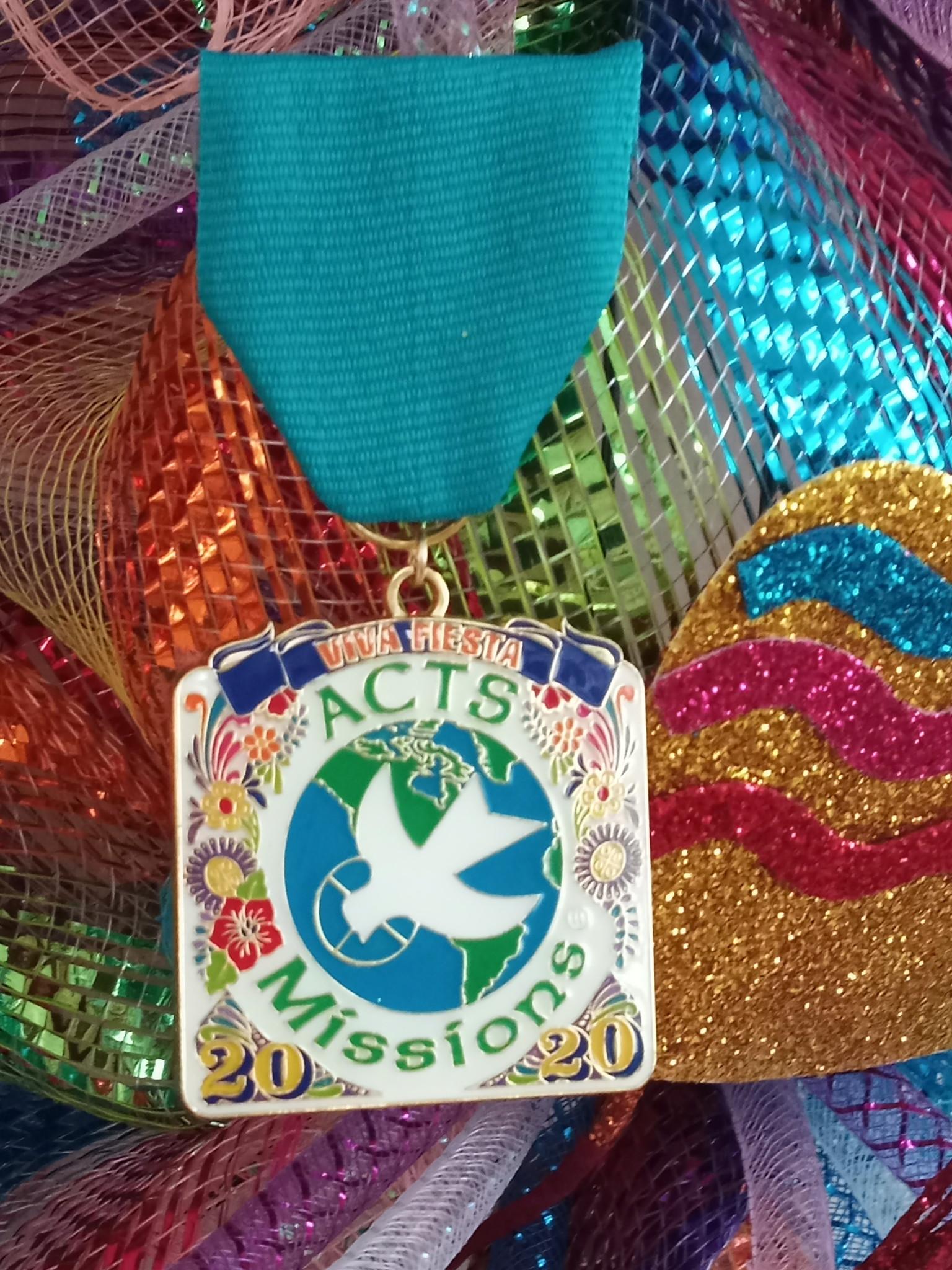 2020 Fiesta Medal