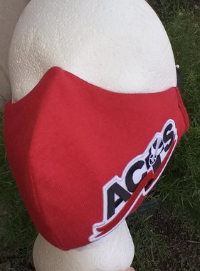 Red ACTS Ribbon Logo Face Mask