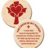 Wooden Cross In My Pocket Token