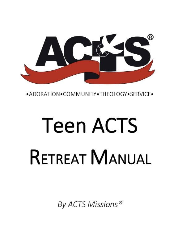 ACTS Teen Manual 2020