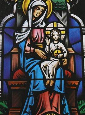 The Memorare Mosaic Prayer Card