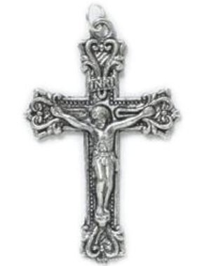 Fancy Scroll Crucifix Pendant w/cord