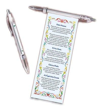 Spanish Catholic Prayer Pen