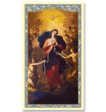 Mary Untier of Knots Prayer Card